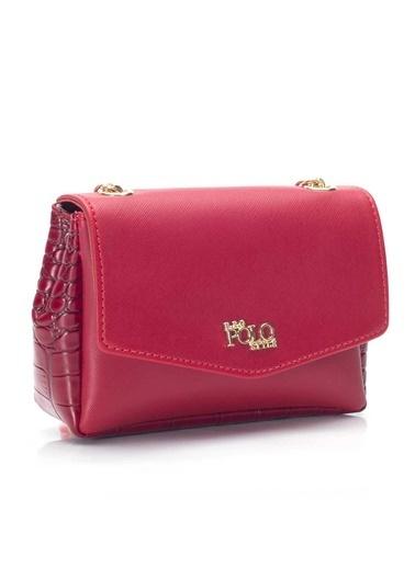 B.F.G Polo Style Messenger / Askılı Çanta Kırmızı